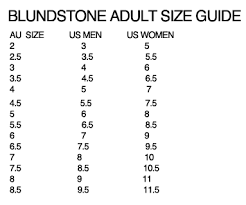 21 Prototypic Blundstone Boots Size Conversion Chart