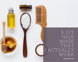 9 diy hair mask that actually work