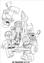 The Lego Movie Coloring Pages Lego Movie Colouring Pages Printable