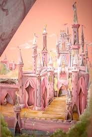 princess castle wall mural for kids room wall idea on castle wall art mural with murals creative kids room wall art kidspace interiors