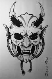 демон они татуировки японский стиль идеи для татуировок