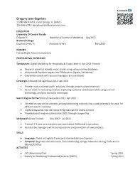 Mcdonalds Crew Member Job Description For Resume Megakravmaga Com