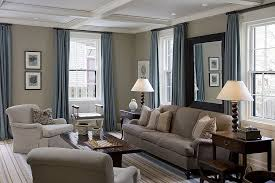 curtains for beige walls surprising blue in the kitchen and family room decorating ideas 5
