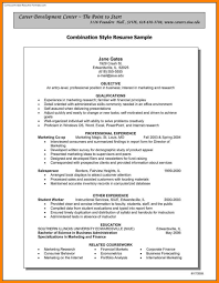 Combination Style Resume Sample 24 Combination Resume Template Word Letter Adress 14
