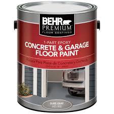 exterior quality concrete floor paint. #902 slate gray 1-part epoxy concrete and garage floor paint-90201 - the home depot exterior quality paint
