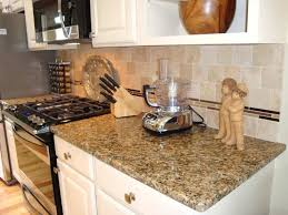 new gold granite with tile venetian backsplash subway match