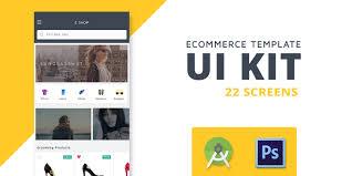 Shoppy Ecommerce Android Studio Ui Kit Android Application Ui