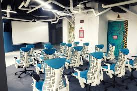 home office design quirky. View In Gallery Chic Seating Options Inside The Spaceship Themed Office Home Design Quirky