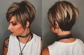 Kapsels Voor Dik Haar Die Besten Korte Kapsels Bruin Dik Haar