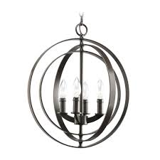 pastiche orb chandelier lighting currey and company