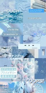 Aesthetic Blue Wallpaper