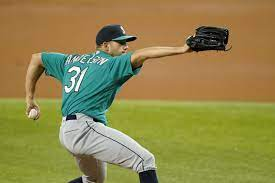 Tyler Anderson, bullpen pitch Mariners ...