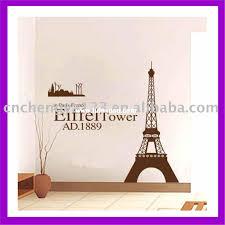 eiffel tower pvc living room pvc eco friendly wall decoration pvc eco friendly wall decoration