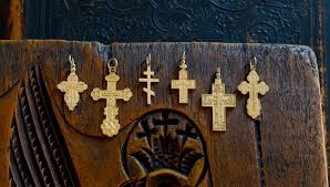 russian crosses incorporate byzantine and russian religious symbolism the russian orthodox crosses are reminiscent of original 17th 18th and 19th century
