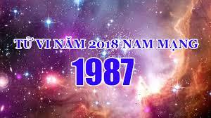 TỬ VI NĂM 2018 TUỔI ĐINH MÃO 1987 – NAM MẠNG – NỮ MẠNG