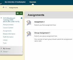 Viewing Grades and Feedback for Assignments in Blackboard     Blackboard Screenshot of Turnitin assignment submission page in Blackboard