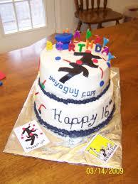 Boys 16th Birthday Cake Cakecentralcom