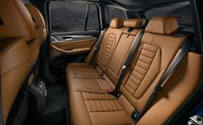 rear seating in the x3