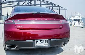 lincoln car 2014 back. road test review 2014 lincoln mkz car back