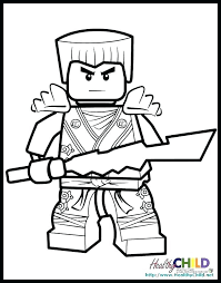 Lego Ninjago Movie Coloring Pages At Getdrawingscom Free For
