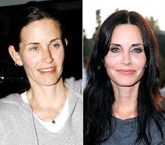 courteney without makeup
