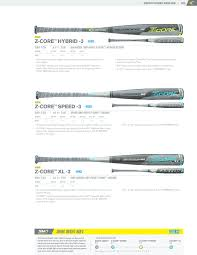 2017 Easton Baseball Catalog Texas Bat Company