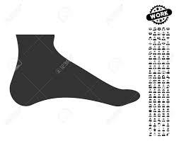 足を黒ボーナス仕事クリップアート アイコン足ベクトル イラストのスタイルはweb デザインアプリ