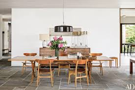mid century modern kitchen table. 10 Midcentury-Modern Dining Rooms Photos | Architectural Digest Inside Small Mid Century Modern Kitchen Table X