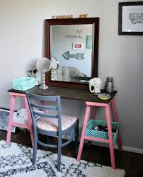 diy easy makeup vanity