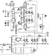 Push pull pp el84 tube lifier schematic ecc83 input circuit theory with power s