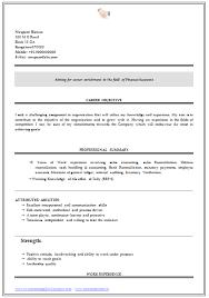 Sample Resume Format For Freshers B Com Granitestateartsmarket Com