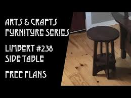 arts crafts furniture series limbert