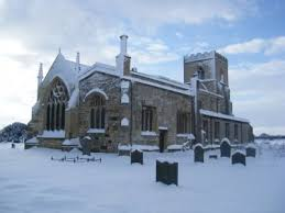 St. Edmunds church in Kellington, Yorkshire, England, where, on 6 Nov 1731,  William Stones was baptised, and on 10 Aug 1756 he and Mildred Rhodes were  wed