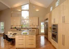 modern wood kitchen cabinets. Amusant Modern Wood Kitchen Cabinets Light 002a S26042311 Angled Island