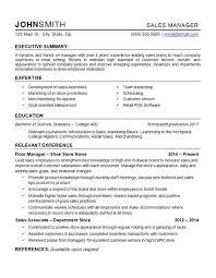 Sample Resume For Retail Manager Sample Resume For Retail Resume For Retail Manager Beautiful Resume 29