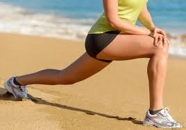 Image result for picture of lunges with leg stretched out