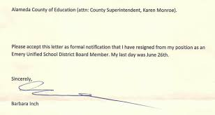 Resignation From Board School Board Set To Appoint New Member After President