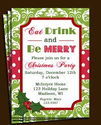 Christmas Party Invitation Text Invitationsjdi Org