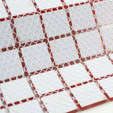 red glass mosaic tile backsplash crystal glass tiles kitchen wall border stickers swimming pool tile bathroom