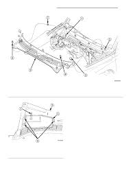11 remove the cowl plenum cover grille panel