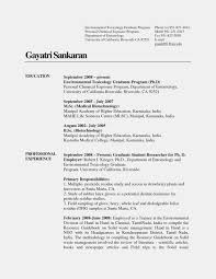 Resume Objective Examples Biotech Biotech Resume Template Resume