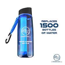Image Survival Directions Survival Hax Water Purifier Bottle Survival Hax