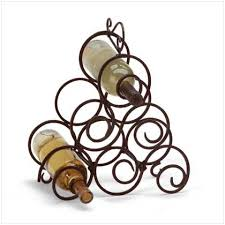 Small wine racks Wall Mm Gift Shop Scrollwork Wine Rack