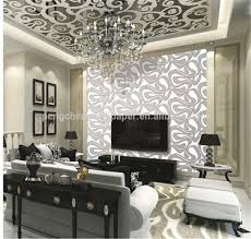 office wallpapers design. Black Light Wallpapers And White Modern Design Wallpaper Decoative For Tv Back Wall Office Decoration
