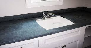 farm sink can be made in diffe shape with the same soapstone as your kitchen top