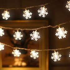 10M 100LED Christmas Snowflake String Lights AC 220V Indoor / outdoor Faily Lamp Holiday Light For Novelty 10m 50led Lighting