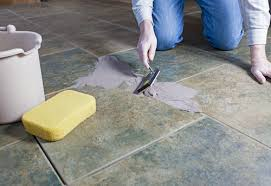 re grouting tile is easier with the proper grout and tools