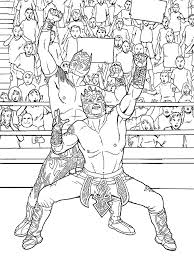 Small Picture Wwe Wrestling Coloring Pages Cheap Free Wrestling Coloring Pages