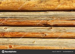 log house wall texture stock photo