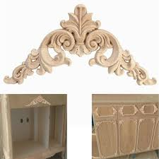 wooden appliques for furniture. Home Decoration Accessories Furniture Appliques Woodcarving Corner Decal Wooden Applique Decor Frame Wall Door For E